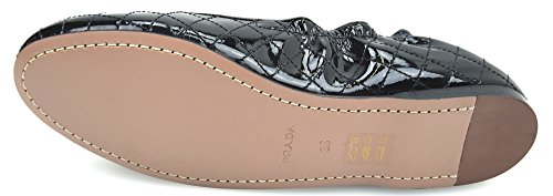 PRADA WOMAN BALLERINA FLAT SHOES BLACK PATENT LEATHER CODE 3S5555 38 NERO - BLACK clearance with mastercard buy cheap release dates sale buy WWRoR