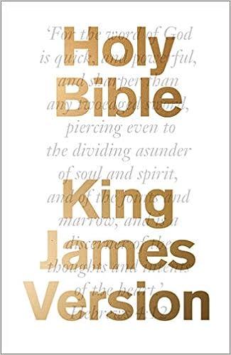 The Bible: King James Version (KJV) (Bible Kjv): Amazon co