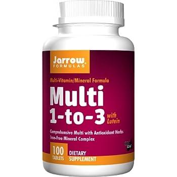 amazon com jarrow formulas multi vitamin 1 to 3 complete