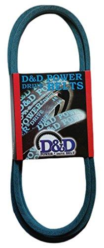 1 -Band D/&D PowerDrive D3809 Country Clipper Kevlar Replacement Belt 123 Length Rubber 123 Length OffRoad Belts 5LK