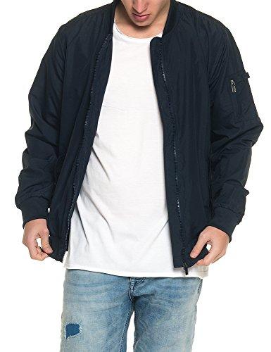 Bomber Blu Authentic Giacche Style Thin Uomo Giubbotto wZqpU4zgq