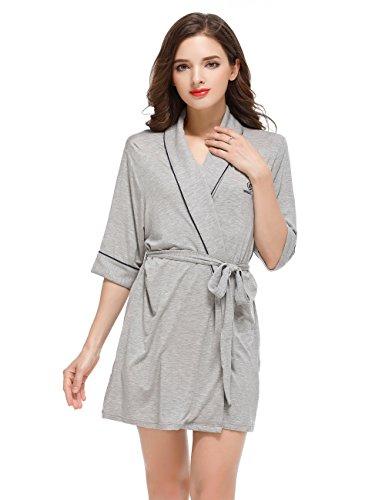Womens Bathrobe Comfort Sleepwear Sissely
