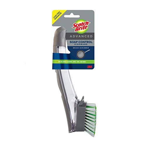 Scotch-Brite Advanced Soap Control Dishwand Brush, Leak-Free Guarantee