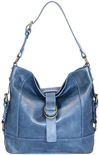 nino-bossi-polished-calfskin-violet-petal-shoulder-bag-washed-blue