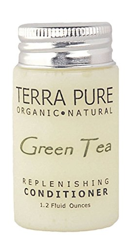 Terra Pure Green Tea Conditioner, 1 Oz. In Jam Jar With Organic Honey And Aloe Vera (Case of 300) by Terra Pure Green Tea