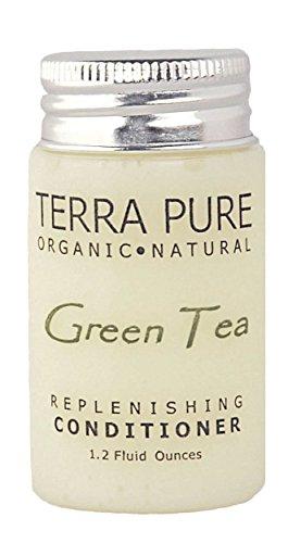 Terra Pure Green Tea Conditioner, 1 Oz. In Jam Jar With Organic Honey And Aloe Vera (Case of 300) by Terra Pure Green Tea