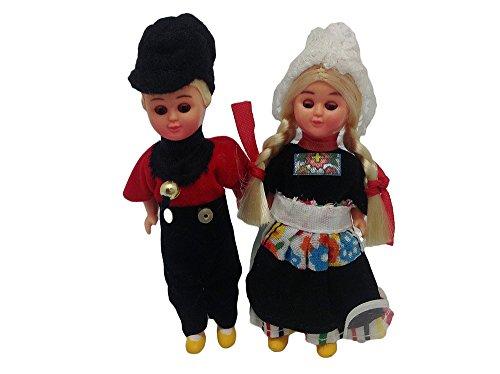 Ethnic Dutch Dolls Costume Boy and - Dutch Boy Girl