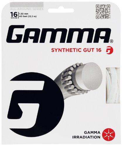 Gamma Synthetic Gut 16G Tennis String, - Tennis Strings