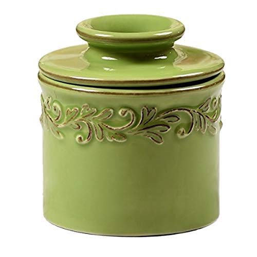 The Original Butter Bell Crock by L. Tremain, Antique Collection - Vert Green ()
