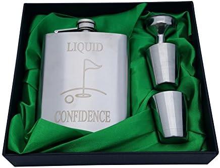 Golf Flask Gift Set Confidence product image