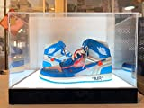 jordan box - CPS New LED Acrylic Shoe & All Products Display Case Box Stand (Fit 2 Shoes)