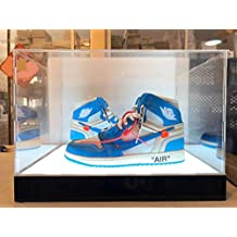 CPS New LED Acrylic Shoe & All Products Display Case Box Stand (Fit 2 Shoes)