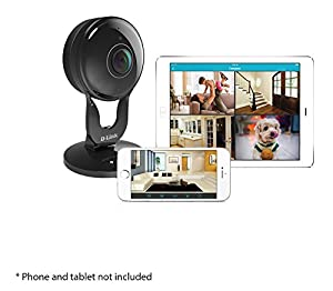D-Link Full HD 180-Degree WiFi Security Camera – 1080P – Indoor – Night Vision – Remote Access – Works with Google Assistant – Casting – Streaming (DCS-2530L) by D-Link Systems, Inc.