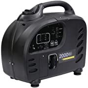 Powerhouse 60376 2000Wi, 1900 Running Watts/2000 Starting Watts, Gas Powered Portable Inverter, CARB Compliant