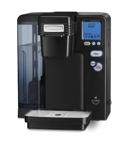 Cuisinart SS-700BK Single Serve Brewing System, Black - Powered by Keurig DISCONTINUED by Cuisinart