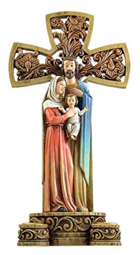Holy Family Cross Advent Wreath 13 1/4 ()