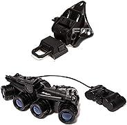 FMA Tactical GPNVG18 Dummy Model Night Vision Goggles & L4G19 NVG Helmet Mount Plastic Bra