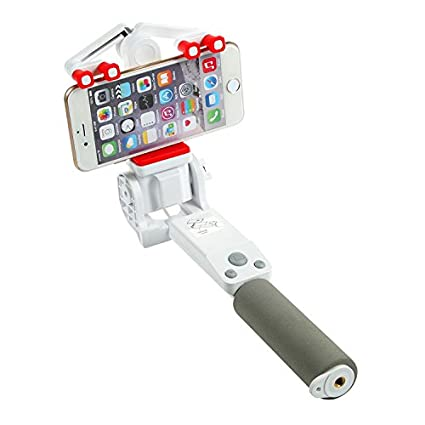 Wansong Automation Rotation Selfie Stick - 360 degree angle  Adjustable,Self-portrait Monopod Extendable Wireless Bluetooth,Adjustable  Phone Holder for
