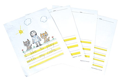 Abilitations Hi-Write Beginner Journal Paper, Level 1, 8-1/2 x 11 Inches, Pack of 100
