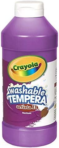 Crayola Artista II Washable Tempera Paint 16oz Purple/Violet