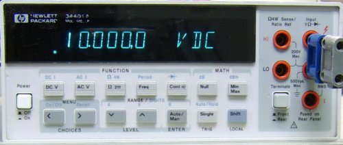 Agilent Technologies - 6 1/2 Digit (Agilent Digital Multimeter)