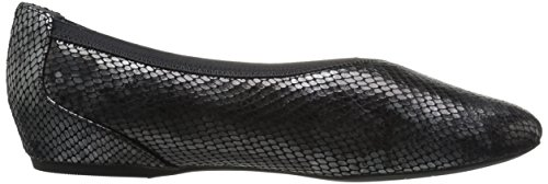 Rockport Mujeres Total Motion Envelope Flat Negro / Multi Snake