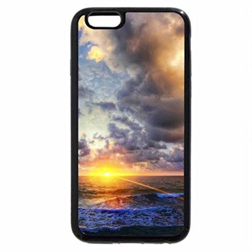 iPhone 6S / iPhone 6 Case (Black) beautiful ocean sunrise
