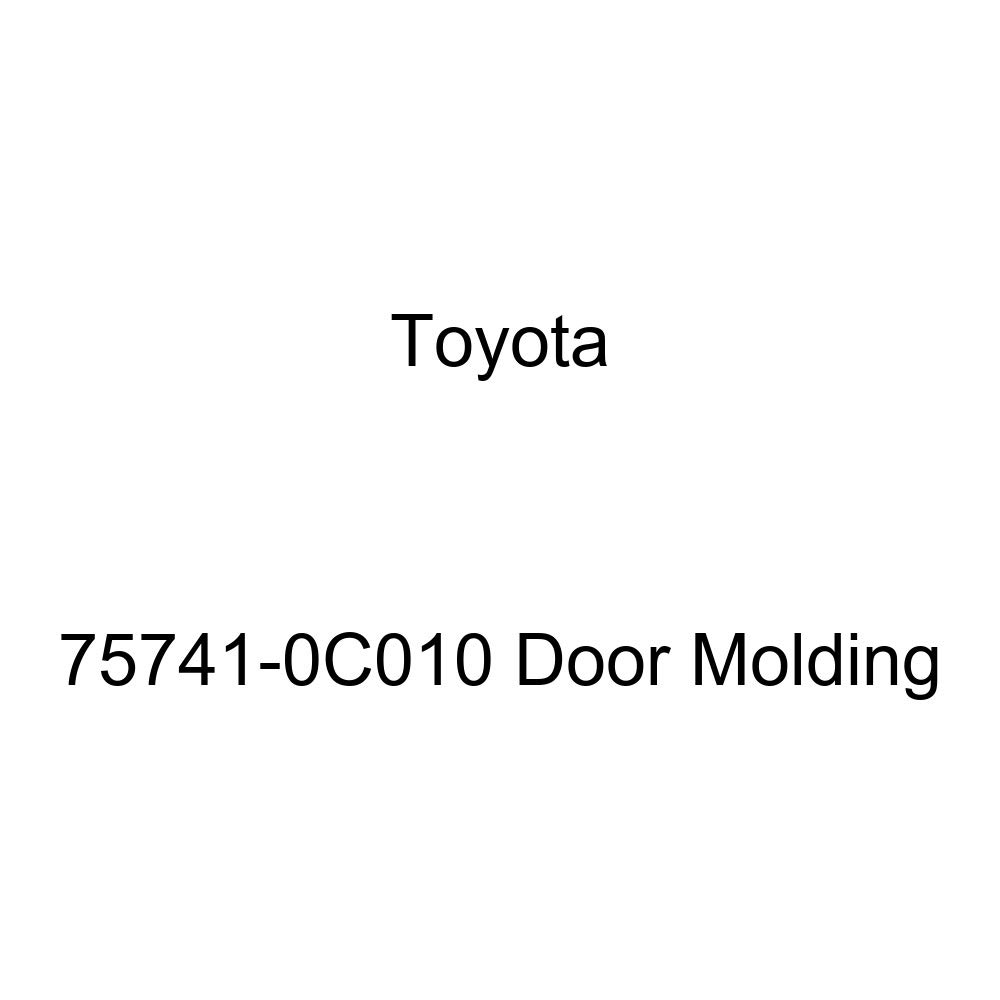 Genuine Toyota 75741-0C010 Door Molding