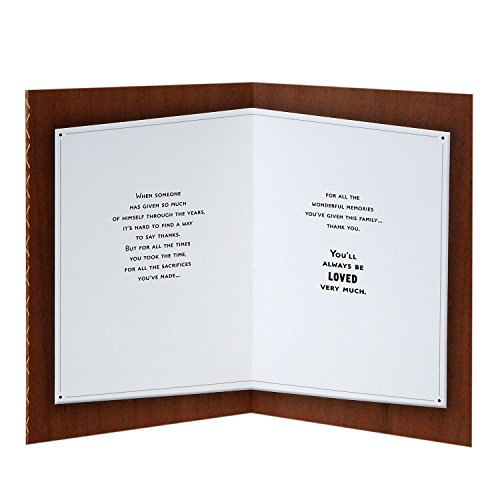 Hallmark Mahogany Father's Day Greeting Card (Time, Sacrifices, Memories) Photo #2