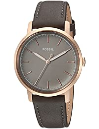 7e470bd447237 Women s   Neely Quartz Stainless Steel and Leather Casual Watch, Color Grey  (Model