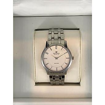 Armbanduhr PRYNGEPS A425 Herren 3bis A917 Quarz (Batterie) Stahl Quandrante weiß Armband Stahl