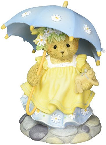 (Cherished Teddies May Happiness Rain on You Always Teddy Bear Figurine CT1601)