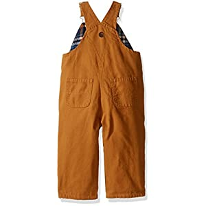 Carhartt Baby Boys' Canvas Overall Flannel Lined
