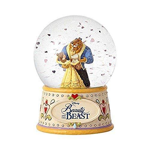 Department56 Enesco Disney Traditions Beauty & The Beast Water Globe]()
