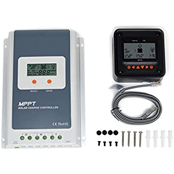 Home Improvement Allpowers 30a Mppt Solar Charge Controller Hy-mppt30a Home & Garden Remote Meter Mt-50 Solar Fast Color