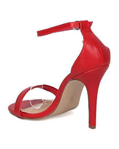 Avec Les Filles JAX - Sandales à talons hauts rouge sePba1