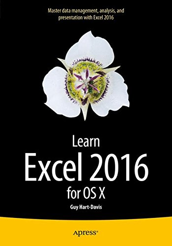 Learn Excel 2016 for OS X by Apress
