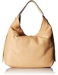 Bryn Double Zip Hobo Bag