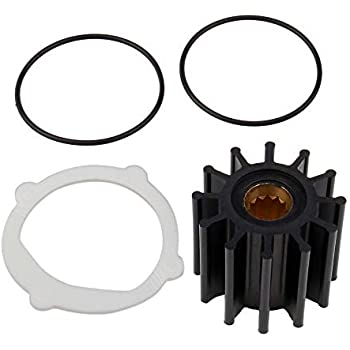 Water Pump Impeller Kit Volvo//Penta 3.0 4.3 5.0 5.7L F-6 Series J//P 09-812B-1