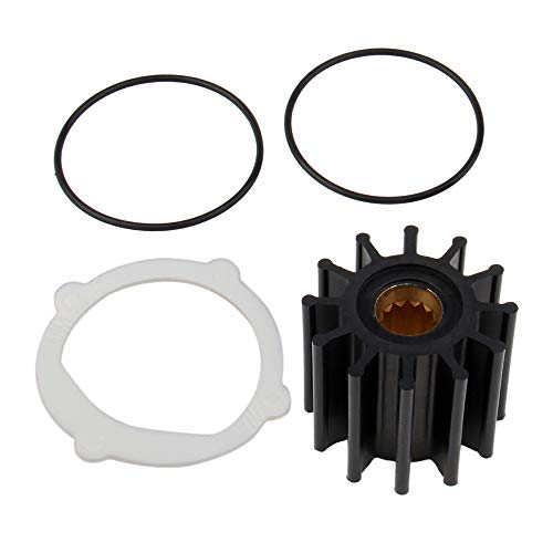 BIG AUTOPARTS Water Pump Impeller Raw Sea Impeller Repair Kit for for Johnson 09-812B-1 Yanmar 119773-42600 Sierra 18-3306 Indmar S685007 ()