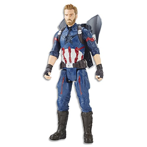 Figure War Plastic (Marvel Avengers: Infinity War Titan Hero Power FX Captain America)