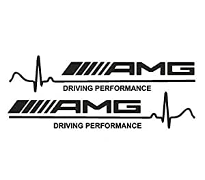 AMG Decal Vinyl Car Stickers for Mercedes-Benz AMG