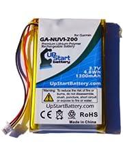 Garmin Nuvi 255W Battery - Replacement for Garmin GPS Navigator Battery (1300mAh, 3.7V, Lithium Polymer)