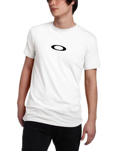 Oakley Men's Basic Icon T-Shirt, White, - Twenty Sunglasses Oakley Xx