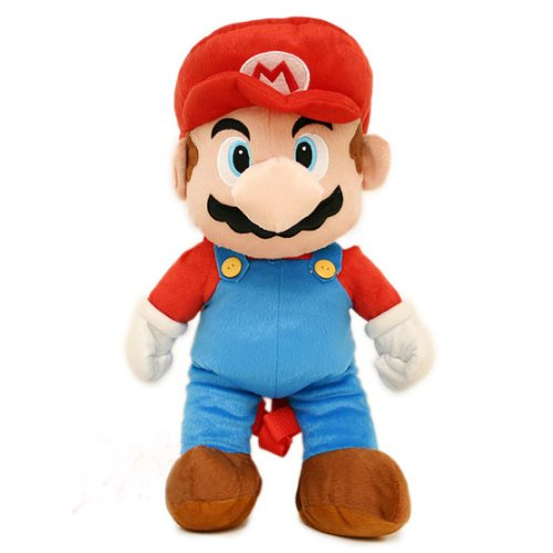 Nintendo Super Mario Plush Backpack Bag