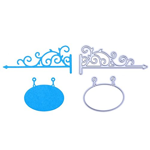 Die Cuts,Lookatool Metal Cutting Dies Stencils DIY Scrapbooking Photo Album Paper Card Gift LDM-472
