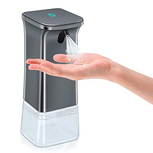 Automatic Hand Sanitizer Dispenser, 12oz Touchless Alcohol Sprayer, Soap Dispenser with Waterproof and Infrared Motion…