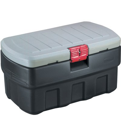 (Verified Exchange 48 Gallon Rubbermaid ActionPacker Storage Container 43.8