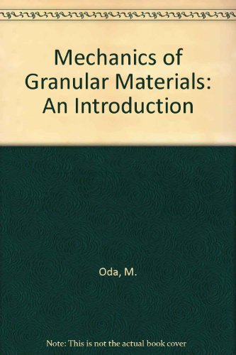 Mechanics Granular Materials Int