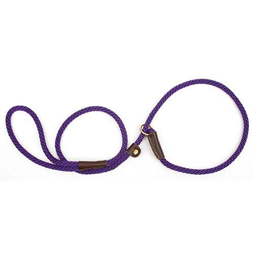"Mendota 3/8"" by 4' Slip Lead, Purple, Small"